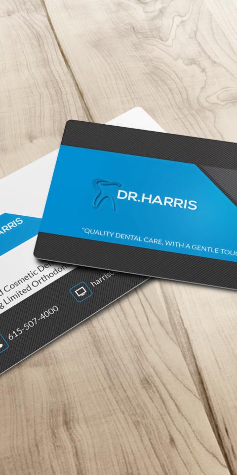 William Harris Business Card-M1