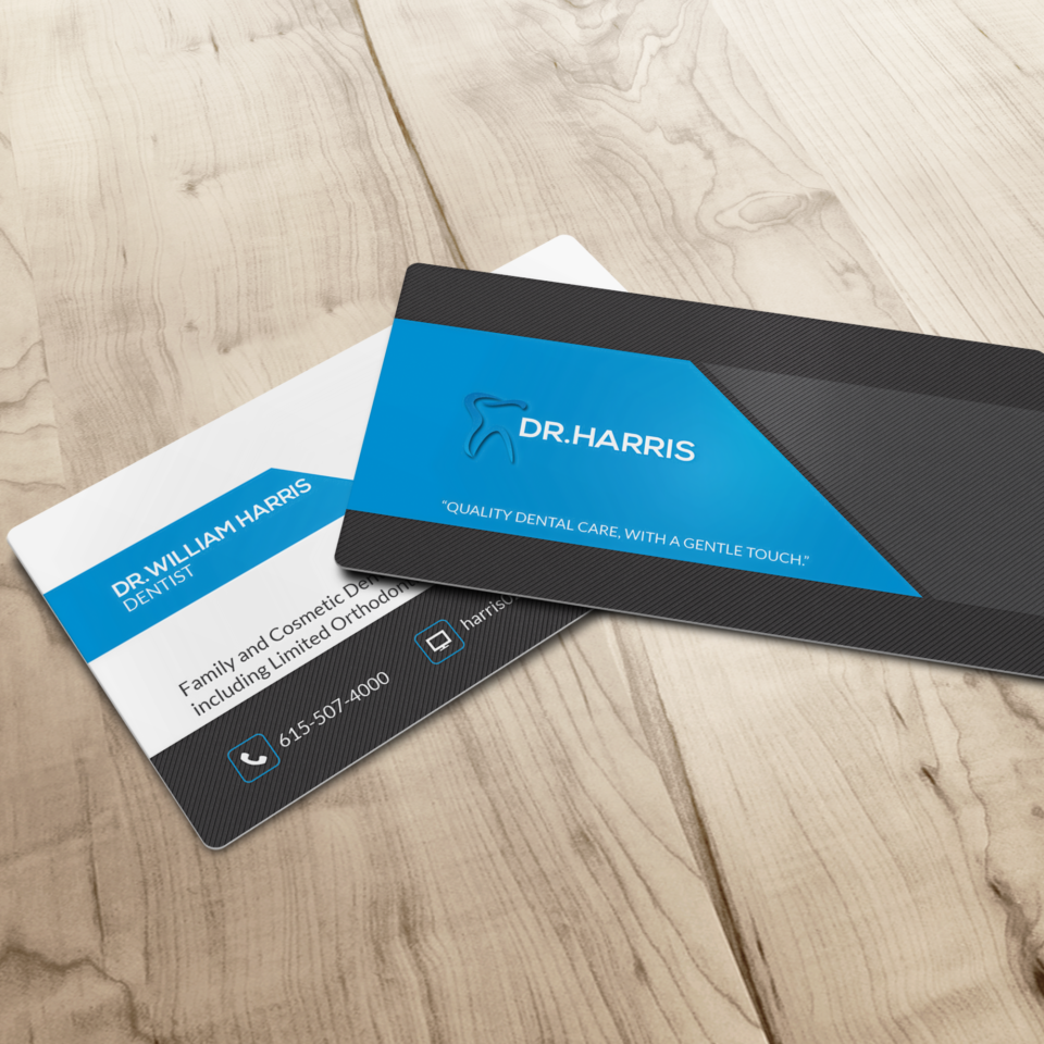 William Harris Business Card-M1